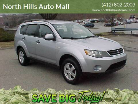2007 Mitsubishi Outlander for sale at North Hills Auto Mall in Pittsburgh PA