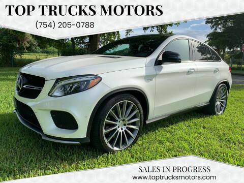 2018 Mercedes-Benz GLE for sale at Top Trucks Motors in Pompano Beach FL