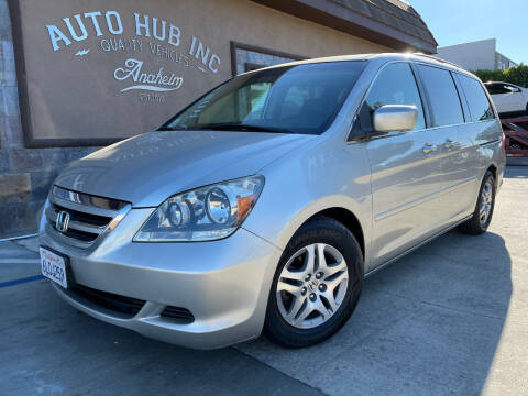 2006 Honda Odyssey for sale at Auto Hub, Inc. in Anaheim CA
