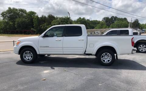 2005 Toyota Tundra for sale at Mac's Auto Sales in Camden SC