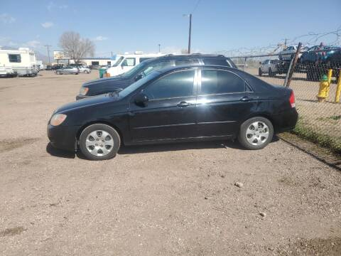 2007 Kia Spectra for sale at PYRAMID MOTORS - Fountain Lot in Fountain CO