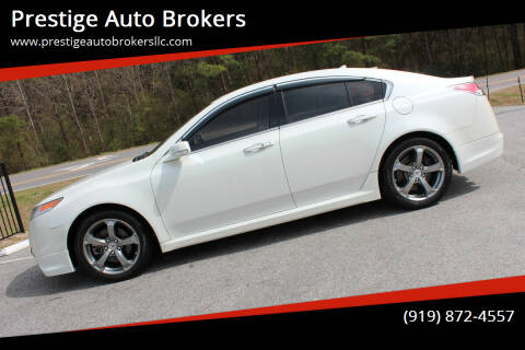 2010 Acura TL for sale at Prestige Auto Brokers in Raleigh NC