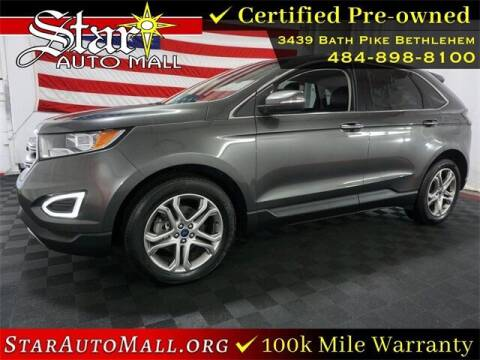 2017 Ford Edge for sale at STAR AUTO MALL 512 in Bethlehem PA