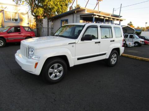 2010 Jeep Liberty for sale at ARISTA CAR COMPANY LLC in Portland OR