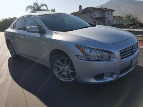2014 Nissan Maxima for sale at Trini-D Auto Sales Center in San Diego CA