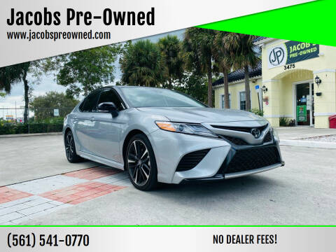 2020 Toyota Camry for sale at Jacobs Pre-Owned in Lake Worth FL
