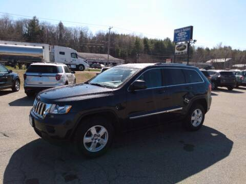 2012 Jeep Grand Cherokee for sale at Ripley & Fletcher Pre-Owned Sales & Service in Farmington ME