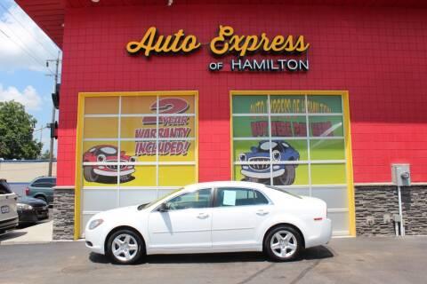 2011 Chevrolet Malibu for sale at AUTO EXPRESS OF HAMILTON LLC in Hamilton OH