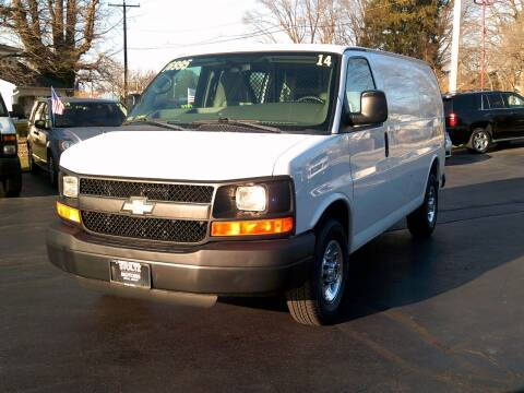 2014 Chevrolet Express Cargo for sale at Stoltz Motors in Troy OH