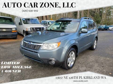 2009 Subaru Forester for sale at Auto Car Zone, LLC in Kirkland WA