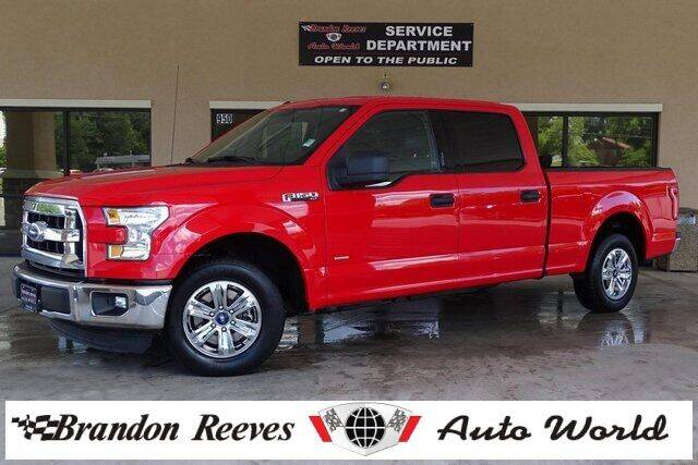 2016 Ford F-150 for sale at Brandon Reeves Auto World in Monroe NC