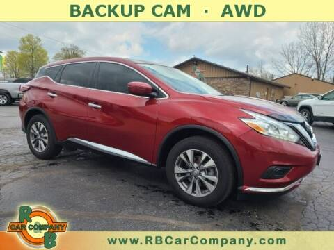 2017 Nissan Murano for sale at R & B CAR CO - R&B CAR COMPANY in Columbia City IN