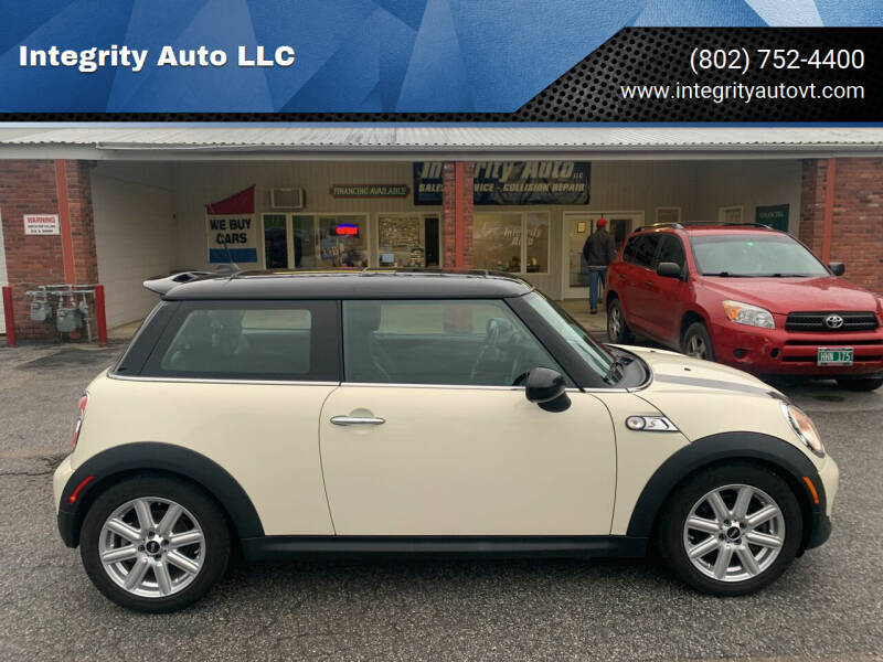 2013 MINI Hardtop for sale at Integrity Auto LLC - Integrity Auto 2.0 in St. Albans VT