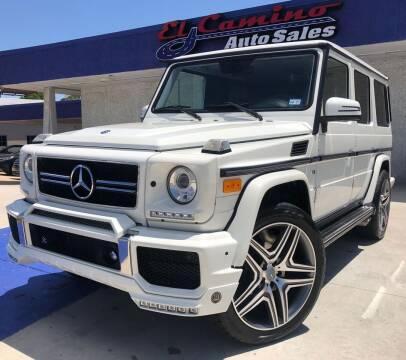 2011 Mercedes-Benz G-Class for sale at El Camino Auto Sales Gainesville in Gainesville GA