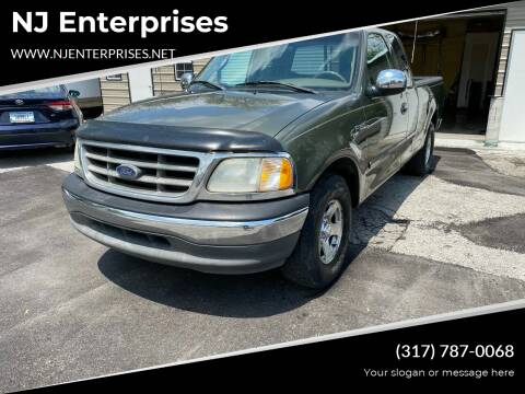 2002 Ford F-150 for sale at NJ Enterprises in Indianapolis IN