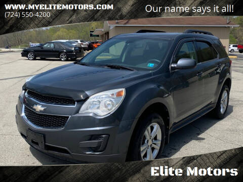 2010 Chevrolet Equinox for sale at Elite Motors in Uniontown PA