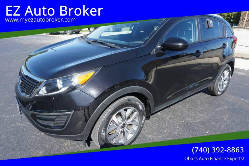 2016 Kia Sportage for sale at EZ Auto Broker in Mount Vernon OH