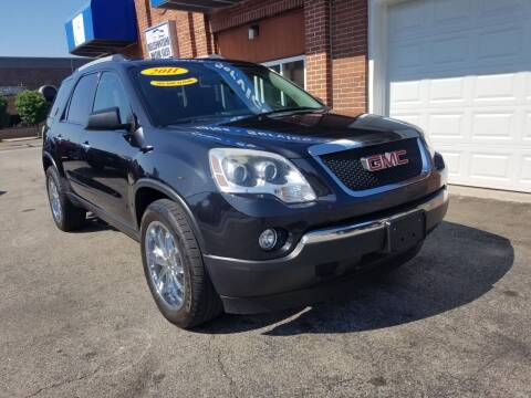 2011 GMC Acadia for sale at BELLEFONTAINE MOTOR SALES in Bellefontaine OH