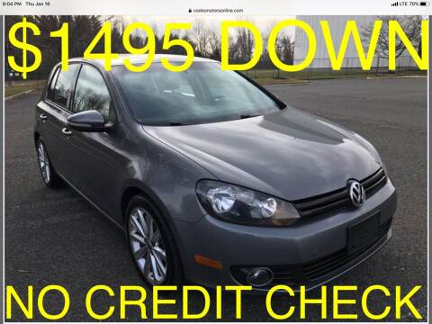 2012 Volkswagen Golf for sale at Cooks Motors in Westampton NJ