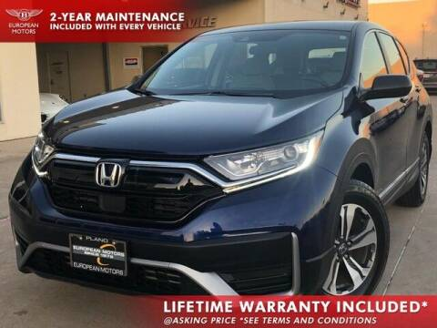 2020 Honda CR-V for sale at European Motors Inc in Plano TX