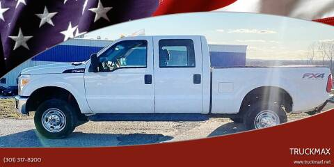 2015 Ford F-250 Super Duty for sale at TruckMax in N. Laurel MD