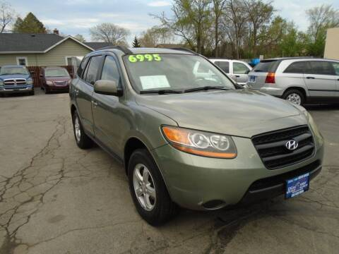 2008 Hyundai Santa Fe for sale at DISCOVER AUTO SALES in Racine WI