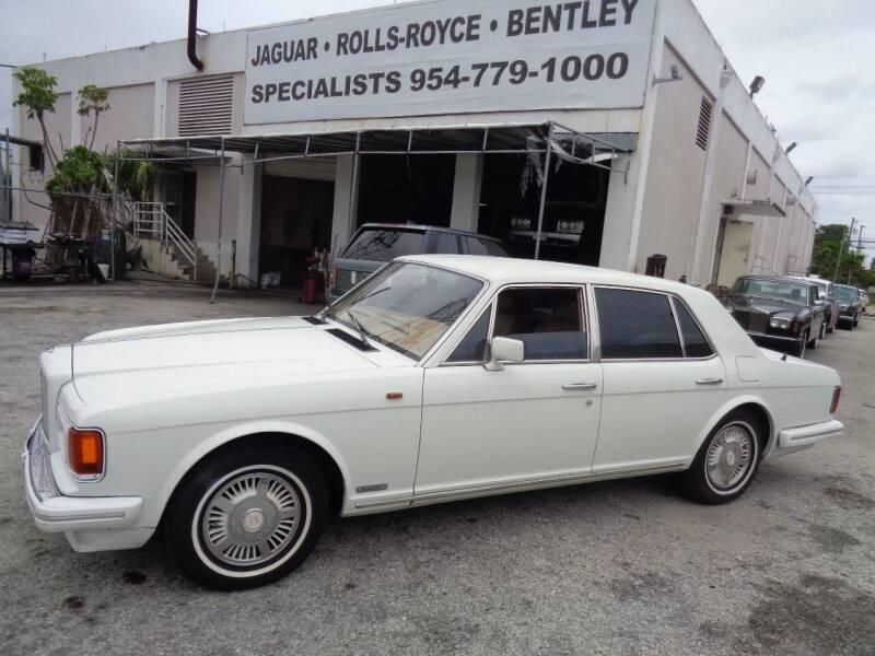 1988 Bentley Mulsanne for sale at Prestigious Euro Cars in Fort Lauderdale FL