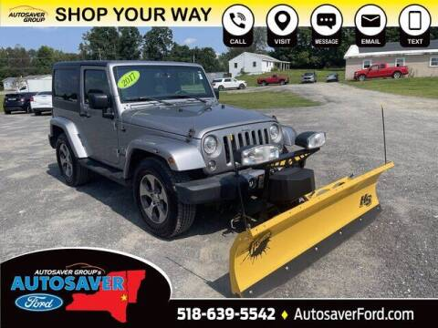 2017 Jeep Wrangler for sale at Autosaver Ford in Comstock NY