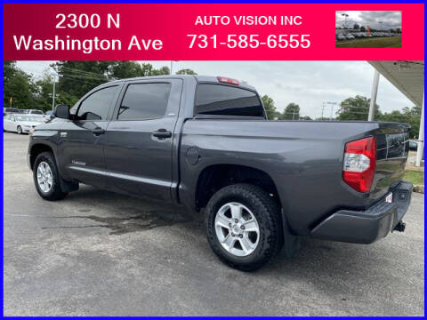 2019 Toyota Tundra for sale at Auto Vision Inc. in Brownsville TN