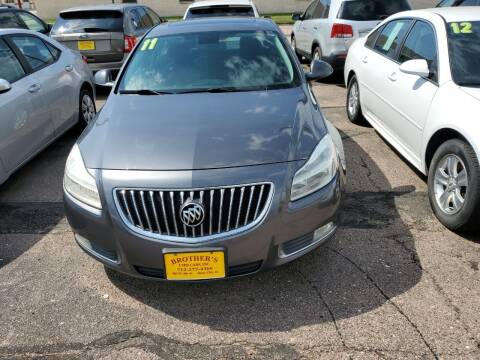 2011 Buick Regal for sale at Brothers Used Cars Inc in Sioux City IA