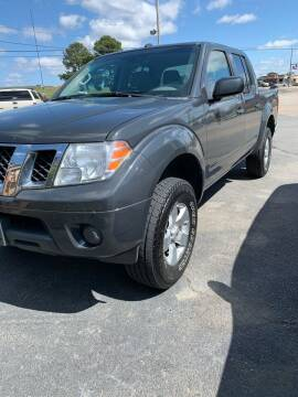 2013 Nissan Frontier for sale at BRYANT AUTO SALES in Bryant AR
