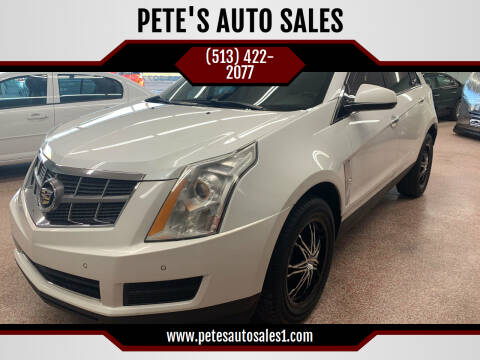 2012 Cadillac SRX for sale at PETE'S AUTO SALES - Middletown in Middletown OH