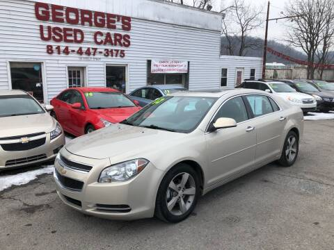2012 Chevrolet Malibu for sale at George's Used Cars Inc in Orbisonia PA