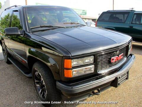 1996 GMC Yukon for sale at Gary Simmons Lease - Sales in Mckenzie TN