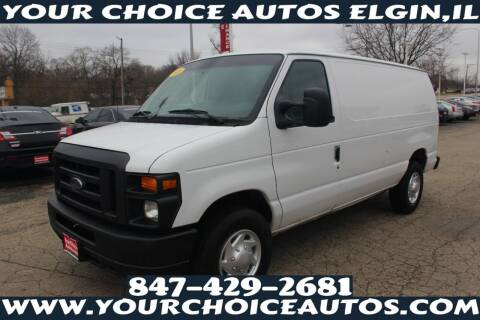 2012 Ford E-Series Cargo for sale at Your Choice Autos - Elgin in Elgin IL