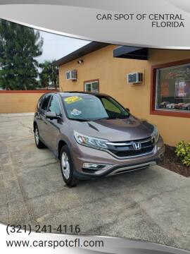 2015 Honda CR-V for sale at Car Spot Of Central Florida in Melbourne FL