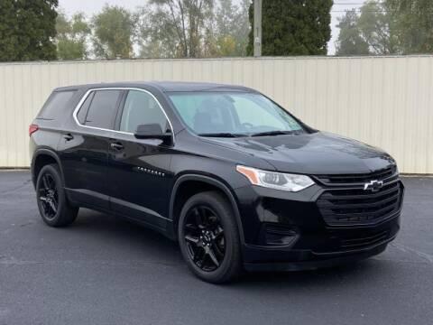 2019 Chevrolet Traverse for sale at Miller Auto Sales in Saint Louis MI