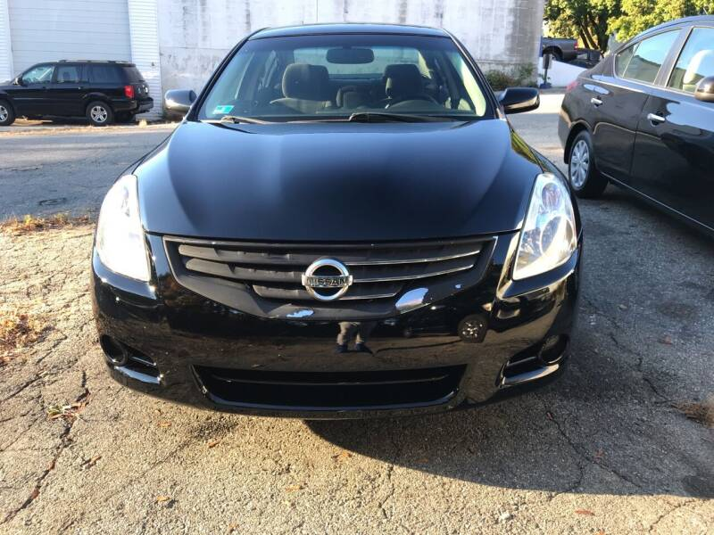 2012 Nissan Altima for sale at Worldwide Auto Sales in Fall River MA