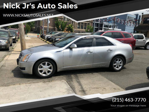 2008 Cadillac CTS for sale at Nick Jr's Auto Sales in Philadelphia PA
