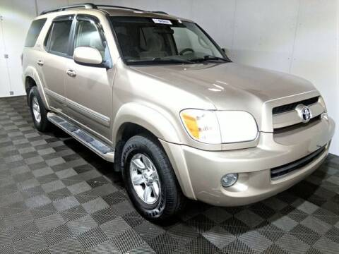 2007 Toyota Sequoia for sale at Plymouthe Motors in Leominster MA