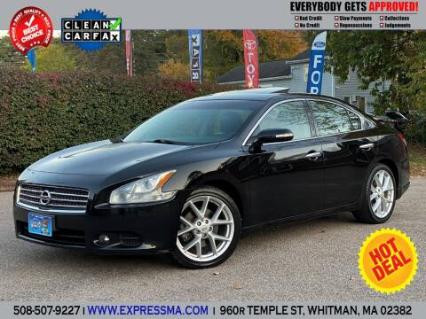 2009 Nissan Maxima for sale at Auto Sales Express in Whitman MA