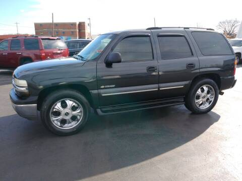 2003 Chevrolet Tahoe for sale at Big Boys Auto Sales in Russellville KY