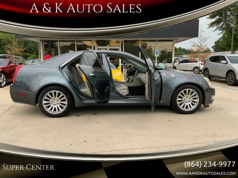 2009 Cadillac CTS for sale at A & K Auto Sales in Mauldin SC