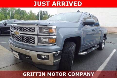 2015 Chevrolet Silverado 1500 for sale at Griffin Buick GMC in Monroe NC