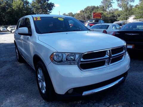 2012 Dodge Durango for sale at Import Plus Auto Sales in Norcross GA