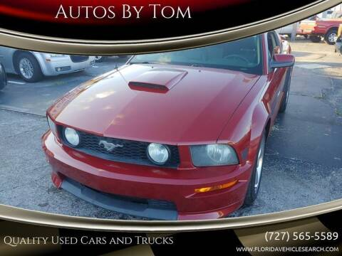 2007 Ford Mustang for sale at Autos by Tom in Largo FL