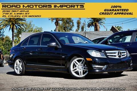 2012 Mercedes-Benz C-Class for sale at Road Motors Imports in El Cajon CA
