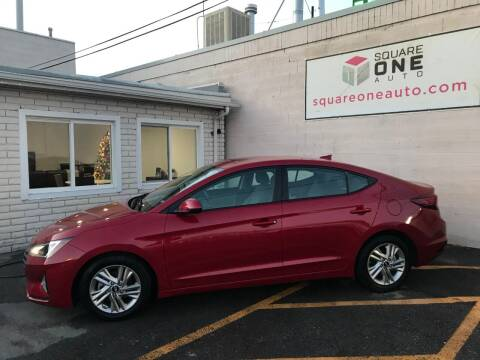 2020 Hyundai Elantra for sale at SQUARE ONE AUTO LLC in Murray UT