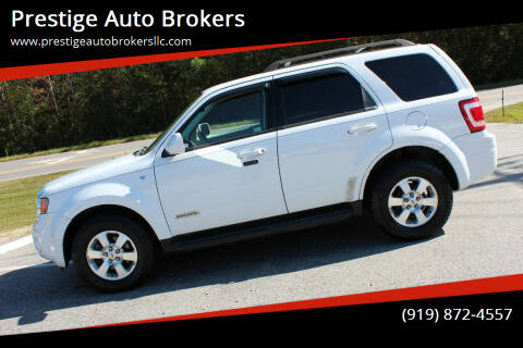 2008 Ford Escape for sale at Prestige Auto Brokers in Raleigh NC