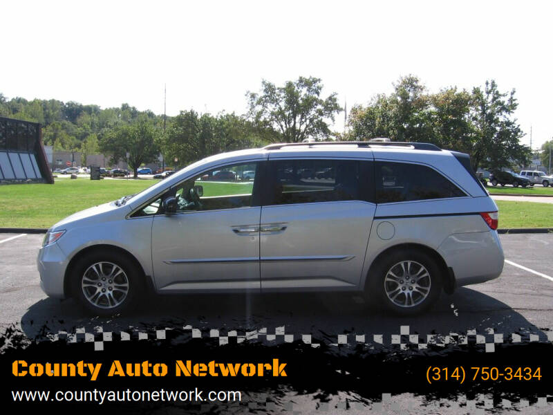 2013 Honda Odyssey for sale at County Auto Network in Ballwin MO